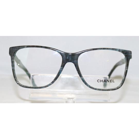 Chanel NEW CHANEL 3320 1527 STRIPED BLUE EYEGLASSES AUTHENTIC ITALY 54-15-140