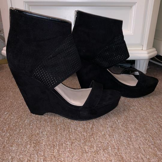 Bar III Black Wedges