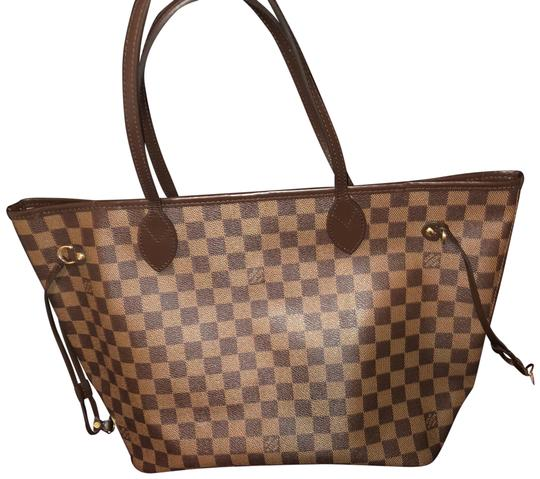 Preload https://img-static.tradesy.com/item/24271514/louis-vuitton-neverfull-mm-damier-ebene-rose-lining-leather-tote-0-1-540-540.jpg