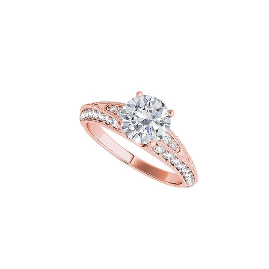 Preload https://img-static.tradesy.com/item/24271552/white-cubic-zirconia-engagement-in-14k-rose-gold-ring-0-0-540-540.jpg