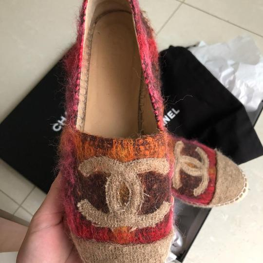 Chanel multi color Flats