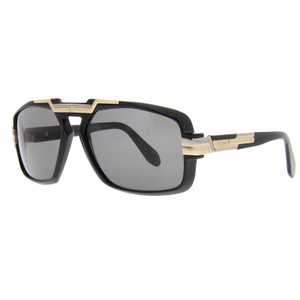 cce5c628ca4 Cazal Cazal 8022 Sunglasses Color 001 Black Gold Authentic New