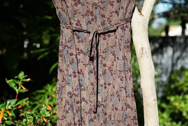 Johnny Was short dress Purple Vintage Floral Boho Style on Tradesy