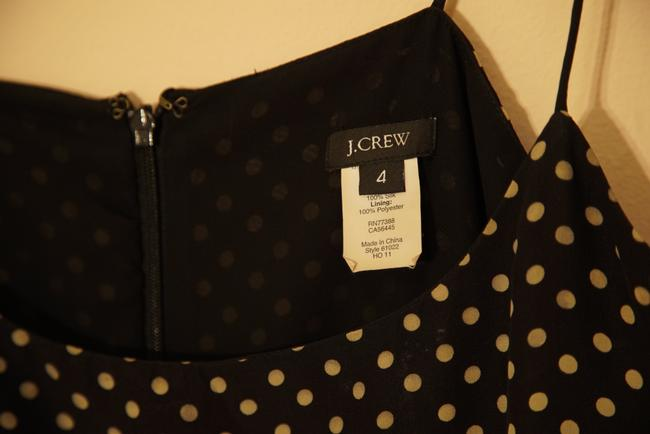 J.Crew short dress black & white Polka Dot Style Chic on Tradesy