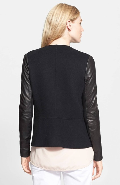 Vince Wool Leather Jacket
