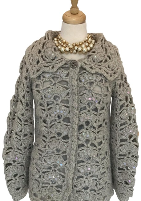 Preload https://img-static.tradesy.com/item/24271760/les-copains-wool-button-down-sweater-cardigan-size-12-l-0-4-650-650.jpg