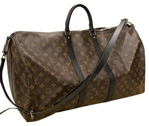 Louis Vuitton Keepal Brown Travel Bag
