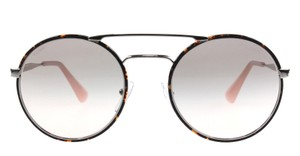Prada NEW Prada SPR 51S Cinema Round Double Bridge Oversized Sunglasses