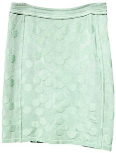Alaia Paris Pencil Style Fashion Skirt lime green