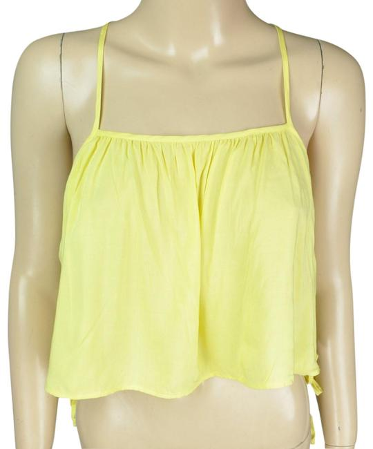 Preload https://img-static.tradesy.com/item/24271879/bcbgeneration-yellow-bcbg-crop-shirt-tank-topcami-size-6-s-0-3-650-650.jpg