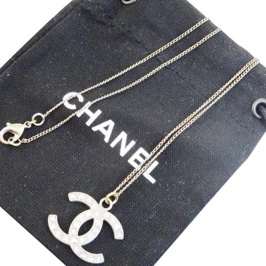 Preload https://img-static.tradesy.com/item/24271909/chanel-silver-cc-rhinestone-chain-plated-france-necklace-0-3-540-540.jpg