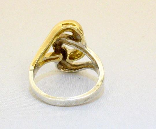 Tiffany & Co. Gold 18K Double Open Heart Link Size 4.5
