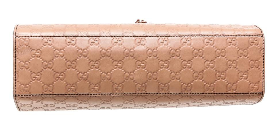 be9e832cca1c Gucci Emily 486641 Rose Beige Guccissima Leather Shoulder Bag - Tradesy