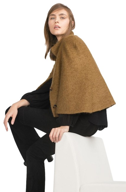 Item - Ochre Mohair (7866) Poncho/Cape Size 4 (S)