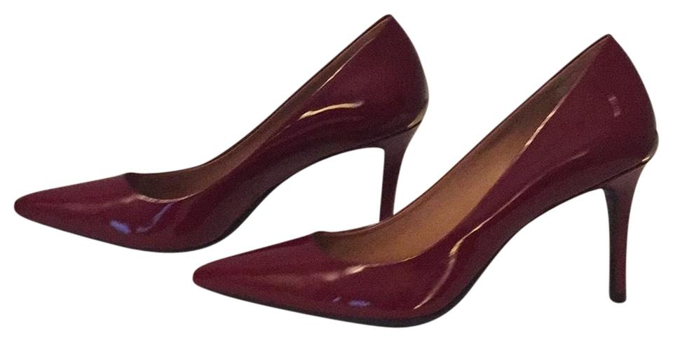 new concept 09c2c 8767d Calvin Klein Gayle Patent Leather Pointed Pumps Size US 8.5 Regular (M, B)  62% off retail