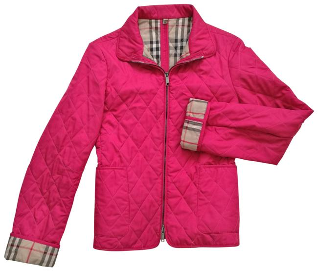 Item - Hot Pink Quilted Jacket Size 0 (XS)