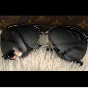 A|X Armani Exchange Aviator