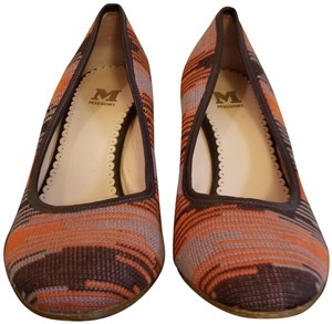 Missoni Orange and purple Wedges