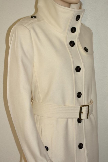 Burberry Wool New Trench Coat Image 6