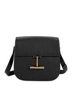 Tom Ford Calfskin Leather Leather Cross Body Bag