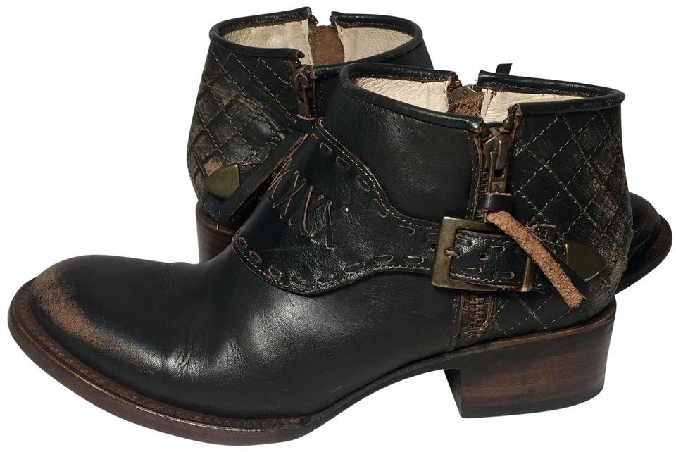 2e9d23c6f3 FREEBIRD by Steven Grand Size 6 Women Size 6 Motorcycle 6 Black Boots Image  0 ...