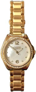 Coach Coach Women's 14501657 Tristen Gold Tone Mother of Pearl Watch
