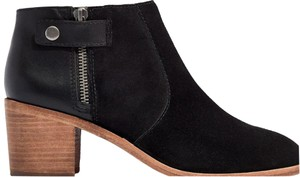 Madewell Black suede Boots