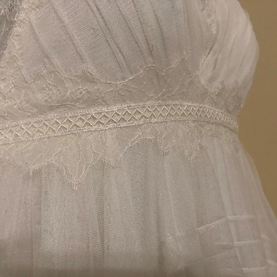 Watters & Watters Bridal Off White Lace Jewel Net A-line Gown (Willowby Feminine Wedding Dress Size 10 (M) Image 5