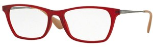 Ray-Ban Square Style Unisex RX7053F 5525 Demo Customisable Lens Eyeglasses
