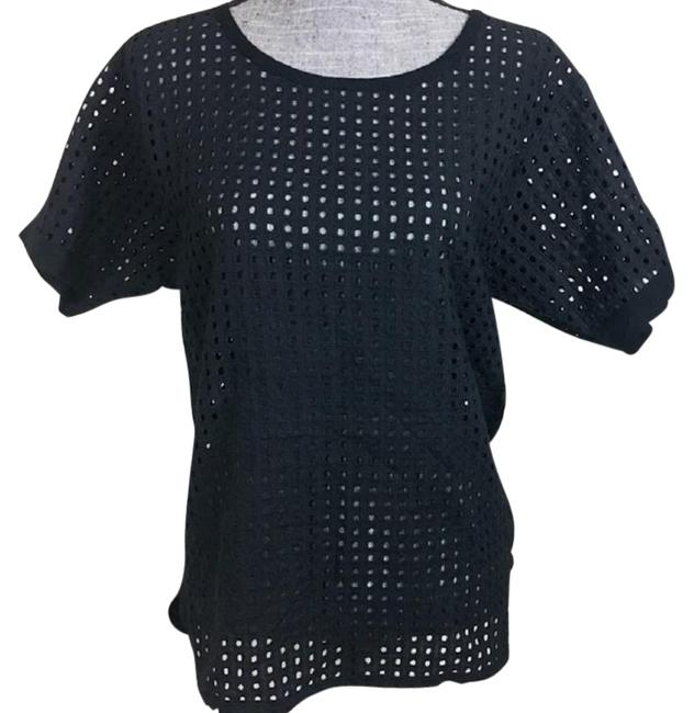 Item - Black Mesh Top Cover-up/Sarong Size 6 (S)