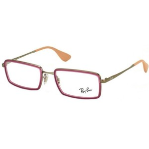 5f6cd74cce Ray-Ban Rectangular Style Unisex RX6337 2857 Demo Customsiable Lens  Eyeglasses