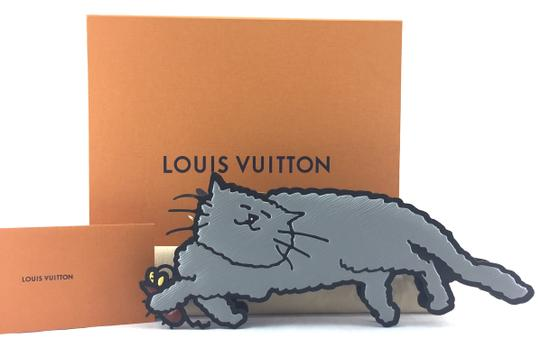 Louis Vuitton Cat Clutch Cross Body Bag