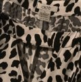 Cache Top leopard - black & white