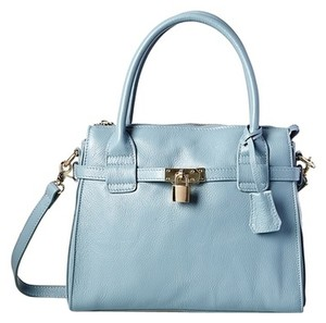 Zenith Satchel in Blue/Gray