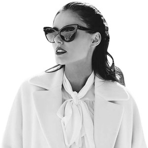 Dior NEW Dior Mohotani Les Marquises Black Cat Eye Sunglasses