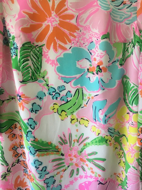 Lilly Pulitzer for Target short dress White/Multicolor Swing Nosey Posie Print Floral on Tradesy Image 2