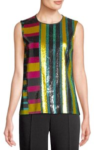 Diane von Furstenberg Top Multi New With Tag