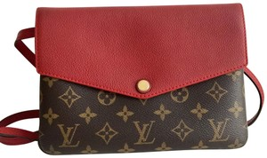 Louis Vuitton Monogram Leather Twinset Twice Cross Body Bag