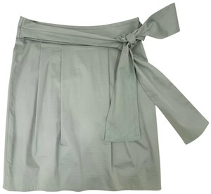 Moschino Mini Skirt Gray Blue