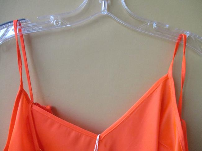 Trina Turk Lacey Tangerine Floral Two Piece Top Coral Image 4
