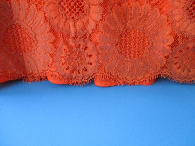 Trina Turk Lacey Tangerine Floral Two Piece Top Coral Image 6
