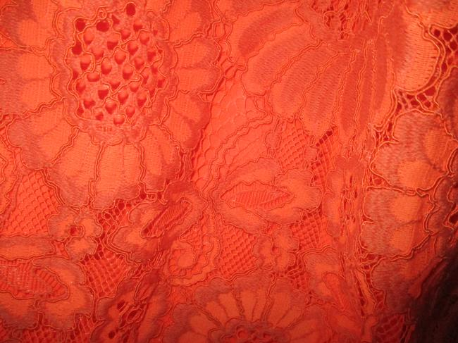 Trina Turk Lacey Tangerine Floral Two Piece Top Coral Image 8