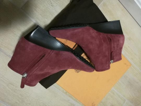 Tod's Burgundy Boots Image 7