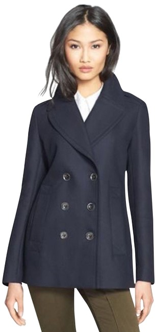Preload https://img-static.tradesy.com/item/24276274/burberry-navy-womens-cotton-peacoat-jacket-us-eu-36-coat-size-2-xs-0-4-650-650.jpg