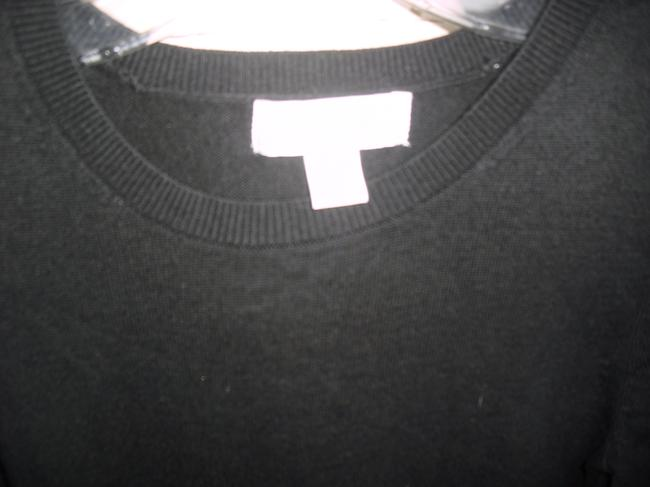 Michael Kors Nylon Cotton Knit Signatures Zippers Ribbed Hip Sweater Image 4