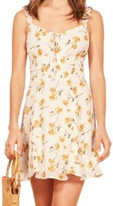 Reformation short dress floral on Tradesy