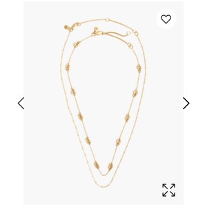 Madewell Madewell layered chain necklace