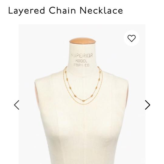 Madewell Madewell layered chain necklace Image 1