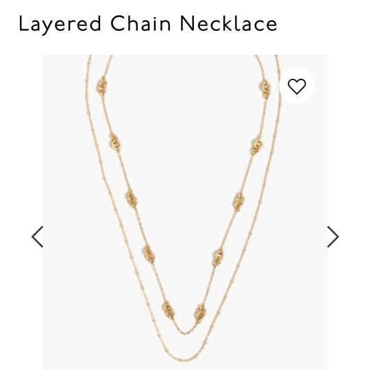 Madewell Madewell layered chain necklace Image 2