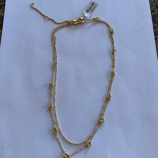 Madewell Madewell layered chain necklace Image 8